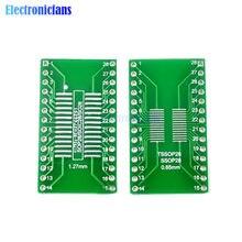 Adaptateur de convertisseur de carte PCB 0.65/1.27mm M, 10 pièces, SOP28 SSOP28 TSSOP28 à DIP28