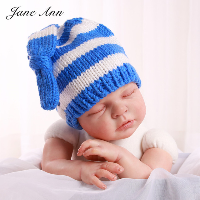 Aliexpress.com : Nette baby knit hats neugeborene fotografie prop ...