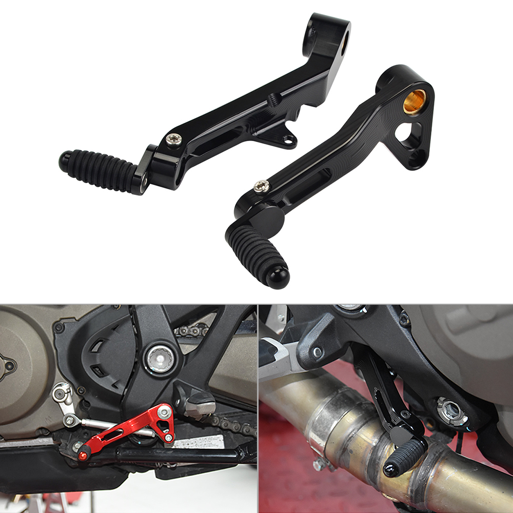 Motorcycle Gear Shift Lever Pedal For Ducati Monster 821 2014-2018 Monster 1200 1200s 1200R 2014-2019 Brake Clutch Shifter Lever
