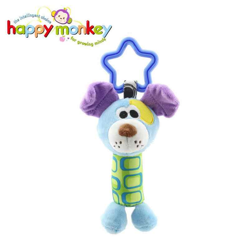 Детские погремушка игрушки мультипликационных животных плюшевые колокольчик Детские коляски Колыбель подвесная погремушки для младенца детская игрушка, подарок Скидка 35%