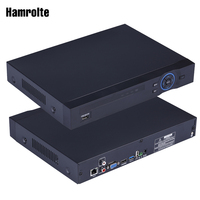 Hamrolte CCTV NVR 16CH Full 1080P ONVIF NVR For IP Camera Security System Motion Dection Email Alert Xmeye Cloud Remote Access