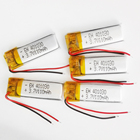 5 pcs 3.7V 110mAh 401030 lithium lipo polymer ion rechargeable battery for MP3 GPS bluetooth headset video pen camera 4x10x30mm