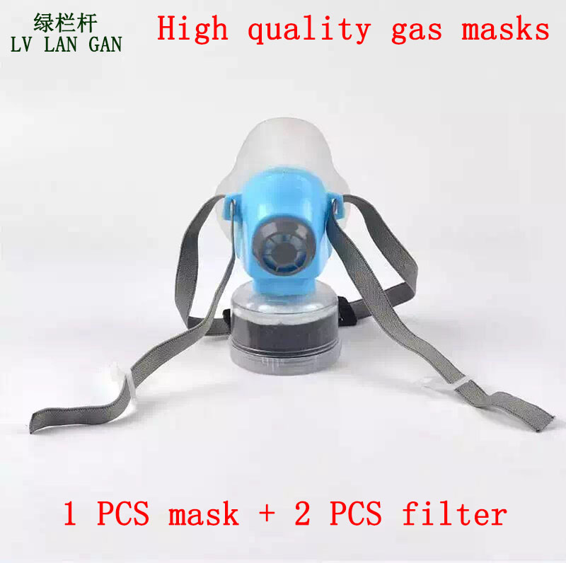 high quality respirator gas mask Brand Practical type protective mask Painting pesticide industrial safety chemical gas mask free shiping r2400 sublimation ink ciss with transfer ink and arc chip for 8color cis r2400