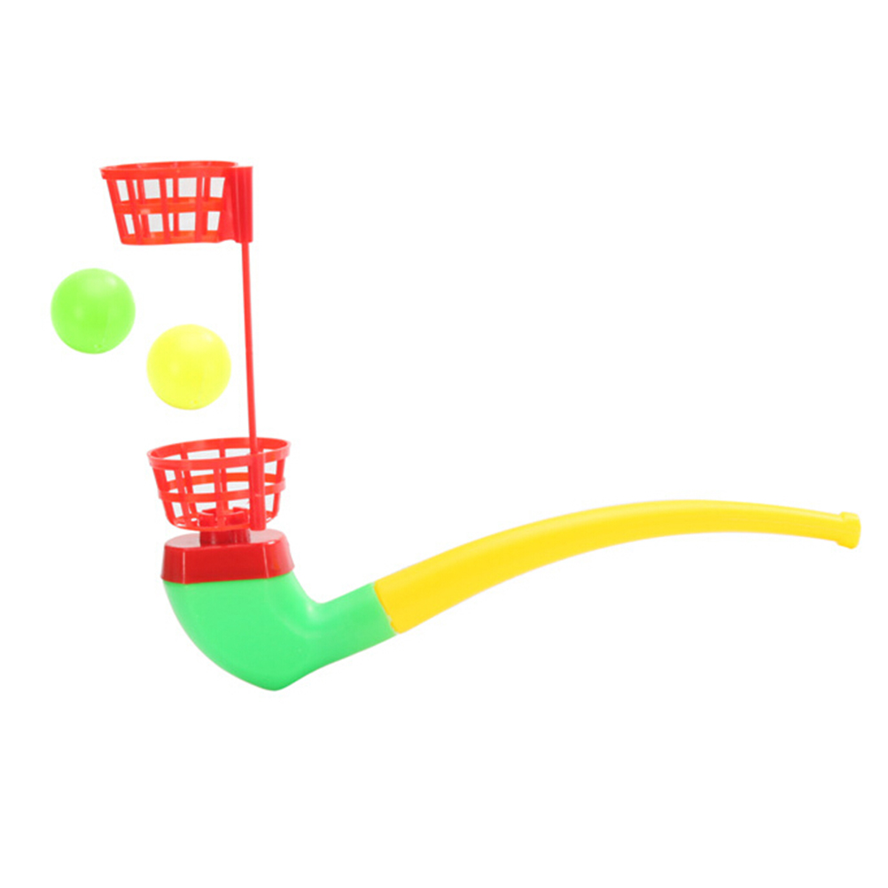 Nostalgic childhood memories of plastic blowing blowing magic ball blow music children baby toys
