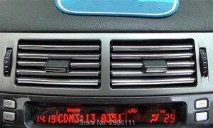 Декоративная лента, хромированная Автомобильная розетка для кондиционера, 3 м, для Audi a4 a3 q5 q7 a5 b6 b8 a6 c5 b7 c6