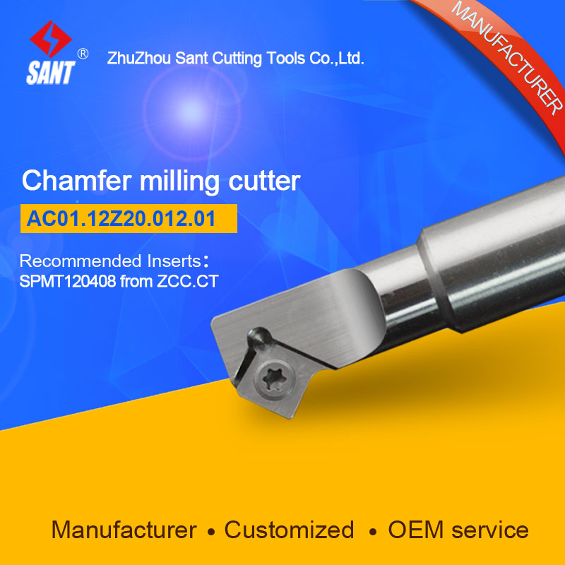 Refer to CMA01-012-G20-SP12-01,AC01.12Z20.012.01 Chamfer Milling Tools for Inserts SPMT120408 refer to cmz01 032 g32 sp12 03 or zc01 12z32 032 03 chamfer milling tools for inserts spmt120408