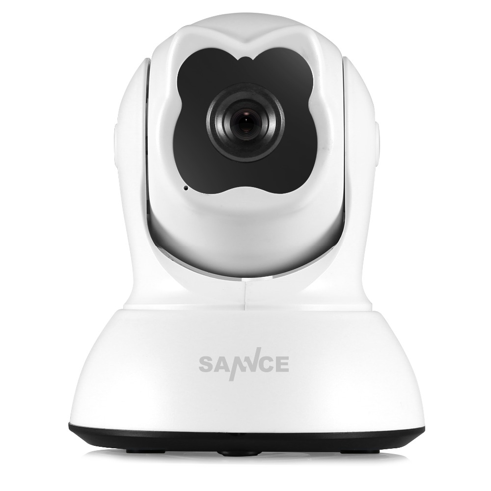 SANNCE HD 720P CCTV Wireless IP Camera indoor Surveillance Camera 1.0MP P2P Wi-fi Security Camera support two way audio fb sannce ip camera 960p wi fi wireless ip camera cctv security camera two way audio baby monitor easy qr code scan connect