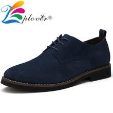 Брендовая мужская повседневная обувь Замшевые классические туфли