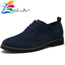 Brand Men Shoes Casual Suede Leather Dress Flats Oxford For Moccasins Fashion Luxury Plus Size Footwear