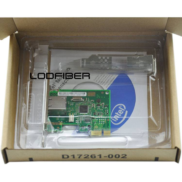 I210T1 Single Port PCI Express x1 Ethernet Server Adapter