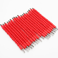 100pcs Electric drill screwdriver multifunctional universal Snake flexible shaft hose Cardan shaft connection soft extension rod