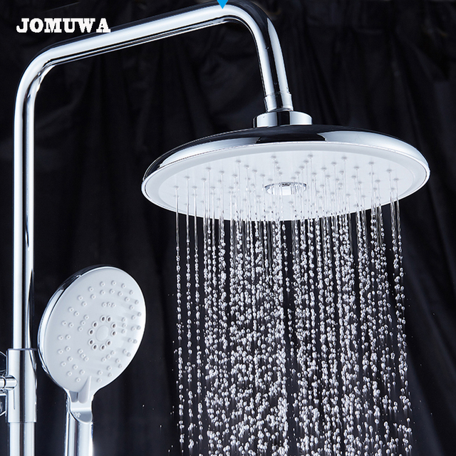 Aliexpress.com : Buy JOMUWA 8 inch Round ABS chrome waterfall ...
