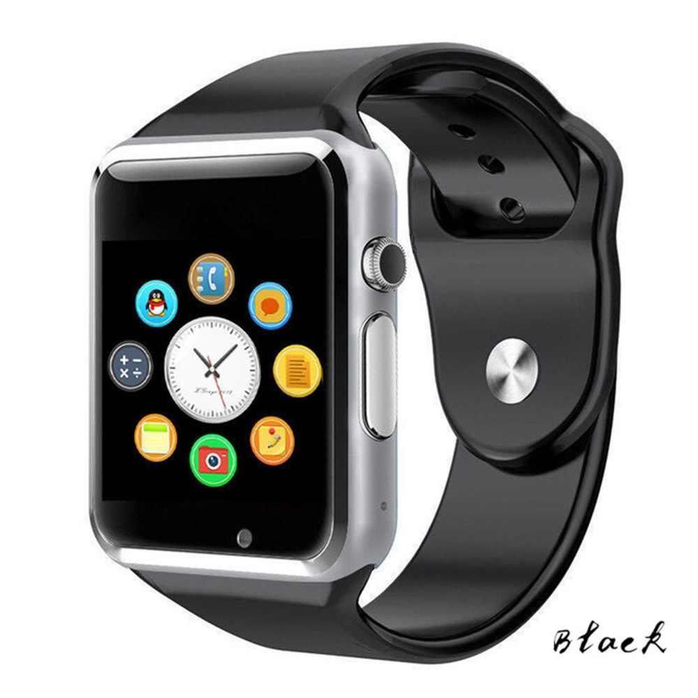696 Высокое Качество Android умные часы A1 часы Bluetooth часы с шагомером SMS синхронизации Поддержка Камера сим-карта TF умные часы gt08