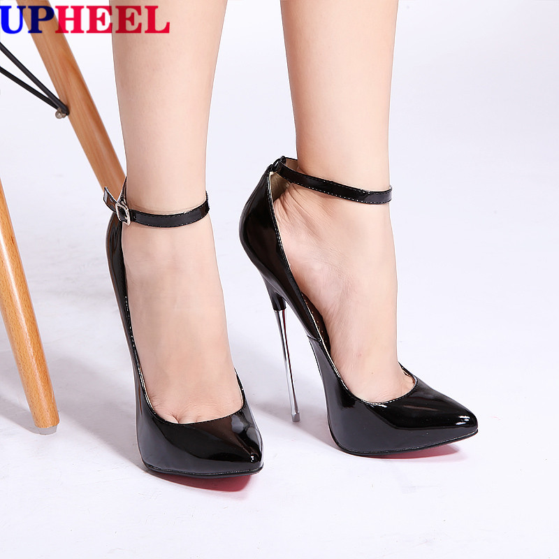 Sexy Stiletto High Heel Pump Shoes Size