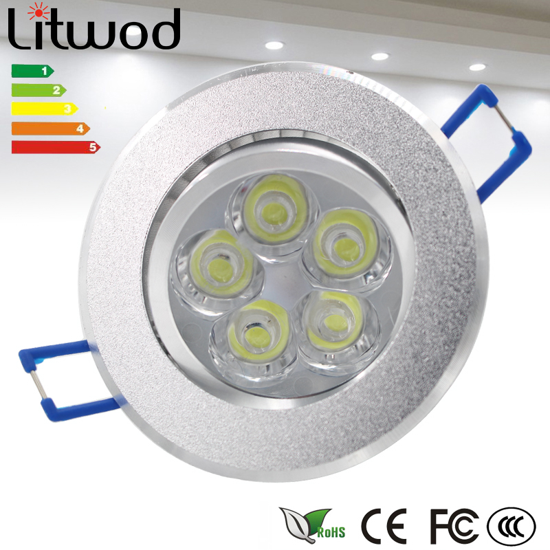 Foco 15 Downlight Faretto Led W Incasso Empotrable UzpMVS