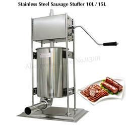 Коммерческий 10L колбаса машина рукоятка колбаса, Мясорубка Мясник магазин Испания Чурро оборудование для Чуррос чайник