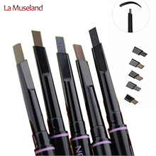 1Pcs New automatic eyebrow pencil makeup 5 style paint for eyebrows brushes cosmetics brow eye liner tools brow pencil #8124