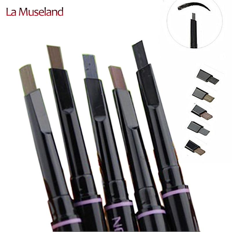 Új automata szemöldök ceruza smink 5 stílus kozmetikai szemhéj szerszám vízálló homlok ceruza # 8124