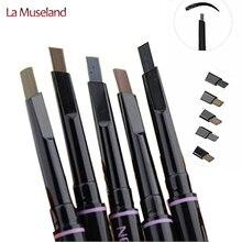 New Automatic Eyebrow Pencil Makeup 5 Style Cosmetics Eye Brow Tools Waterproof Brow Pencil 8124