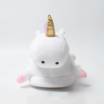 2019 Winter lovely Home Slippers Chausson Licorne White Shoes Women unicorn slippers animals pantuflas unicornio pantoufle femme 1