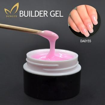 Envío Gratis Gel claro constructor extensión de uñas Gel Set uñas arte puntas francés manicura Vernis Gel UV profesional de alta calidad