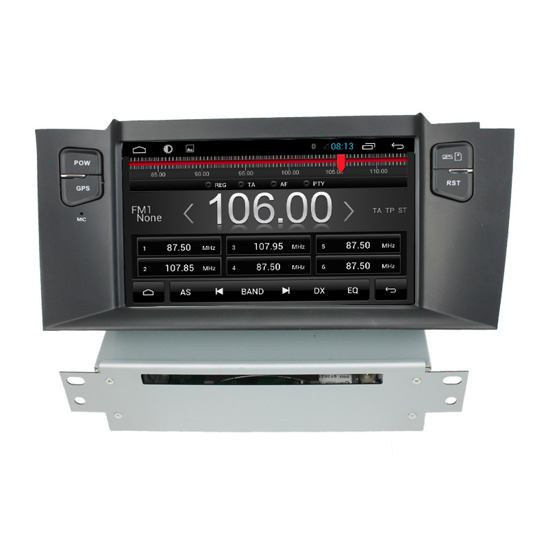 For Capacitive Android 6.0 car audio for Citroen <font><b>C4</b></font> L with gps radio <font><b>bluetooth</b></font> OBD steer wheel screen board display 3G WiFi