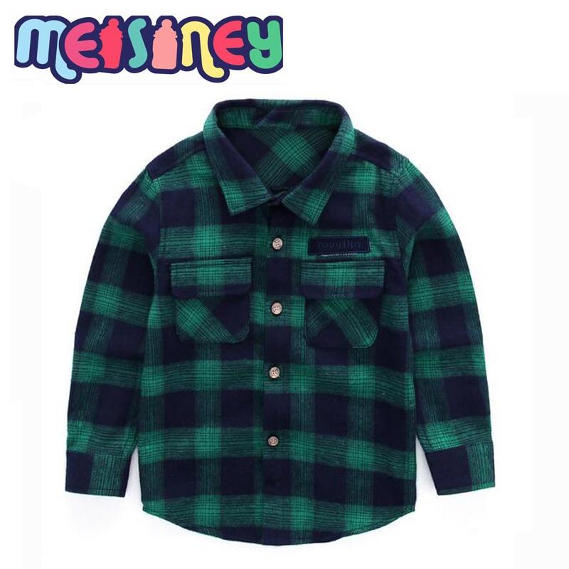 Shirt jongen 2018 nieuwe kinderleer voor jonge kinderen leisure - Kinderkleding - Foto 5