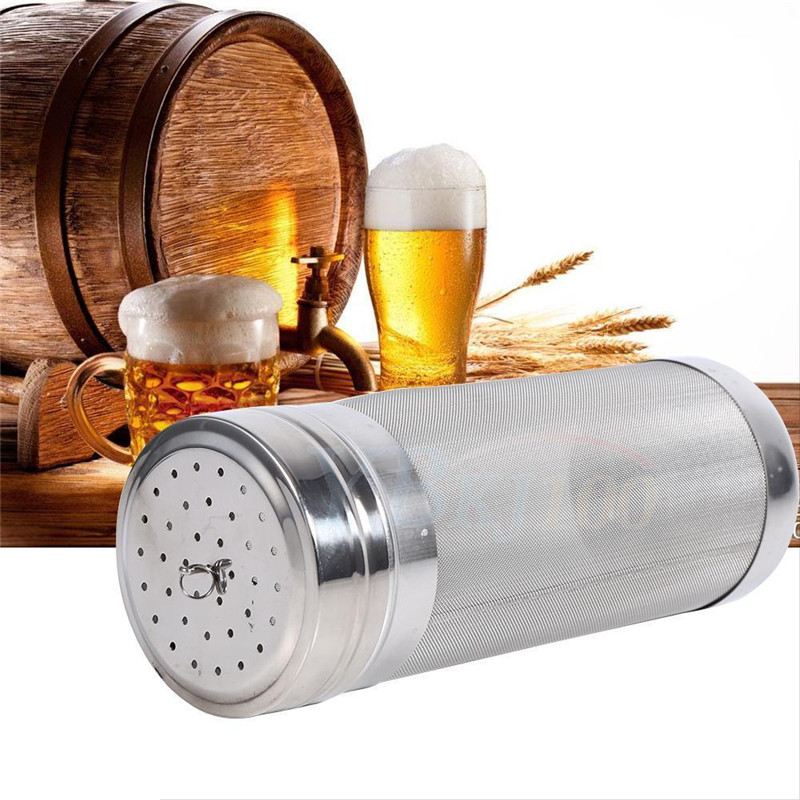 New Stainless Steel Brew Brewing Filter Strainers Barrel Dry Hopper Hop Spider Home Beer Wine Making Tools