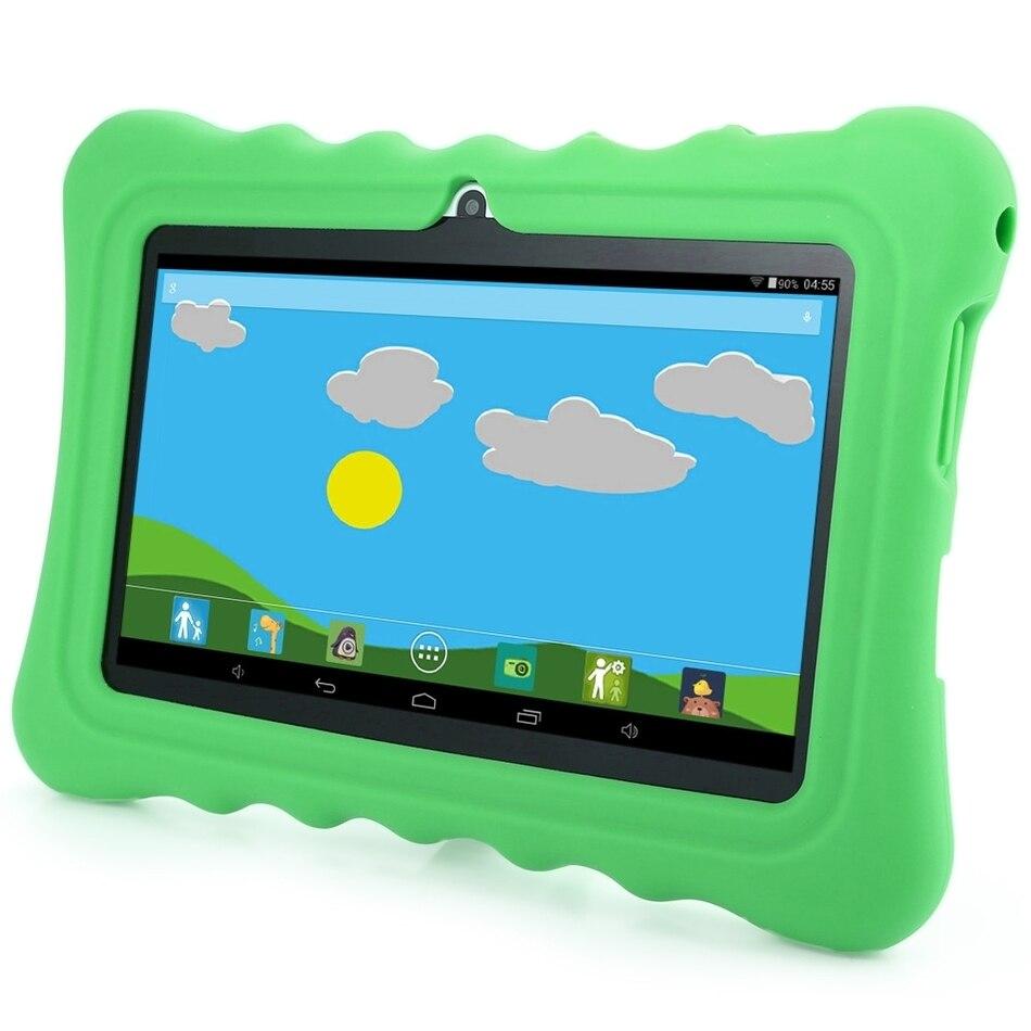 GBtiger L701 7.0 inch US Plug Android 4.4 Kids Tablet PC Quad Core 1.3GHz 512MB RAM 8GB ROM 2.0MP Back Camera WiFi Bluetooth