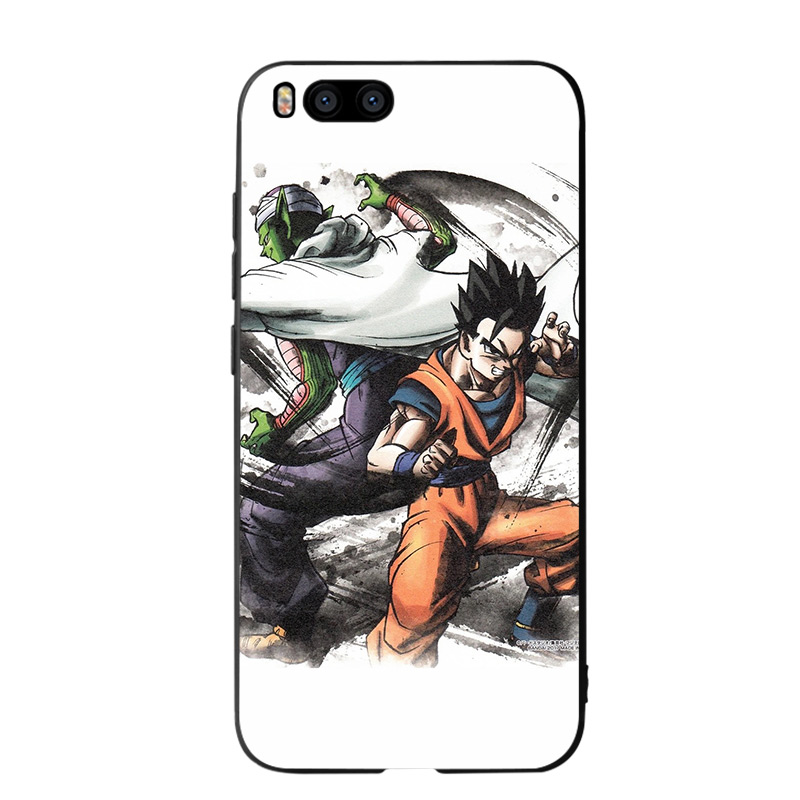 Comic Dragon Ball Phone Cases for Xiaomi mi A2 8 9 lite se case xiaomi redmi note 6 7 pro case redmi note 5 Plus Soft Cases in Half wrapped Cases from Cellphones Telecommunications