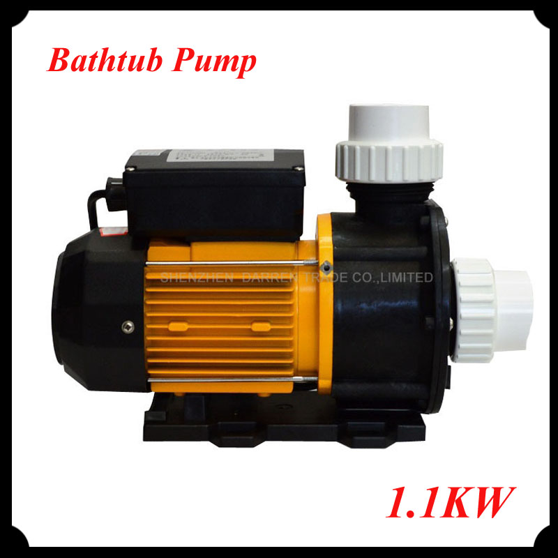 1pc Spa Pool Bathtub Pump 1.1KW / 1.50HP TDA150(China (Mainland)