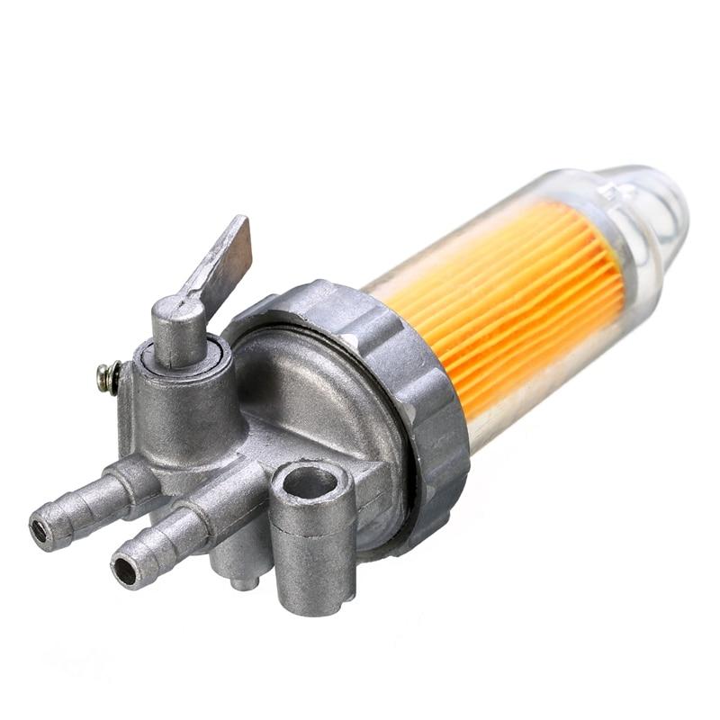 New Car Olio Filtro Carburante Valvola di Intercettazione Per 5KW 6KW 7KW 178F 186F 188F Generatore di Automobile Parti del Filtro Accessori