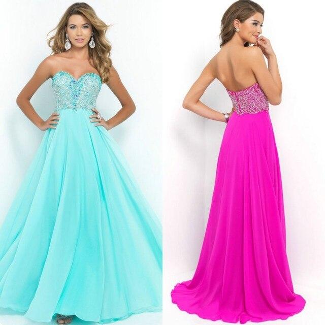 Style 9950 Aquamarine Magenta Pacific Evening Dress Long 2015