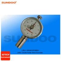 Aletler'ten Sertlikölçerler'de Kauçuk Plastik Durometer Pointer Çift Durometer Sundoo LXB D
