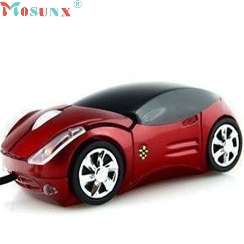 Mecall Tech New Car Shape USB 3D Optical Mouse Mice For PC/Laptop