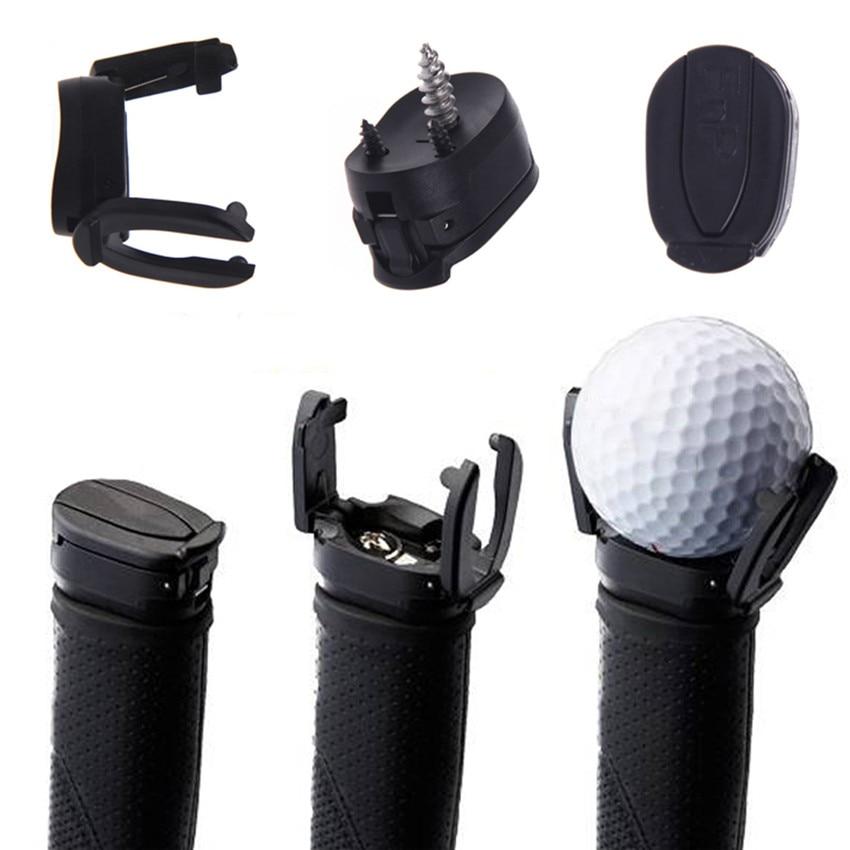 Golf Ball Pick Up Ball Saver Claw Mini Put On Putter Grip Grabber Creative Open Pitch Retriever Training Aids Accessories
