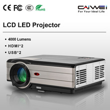 CAIWEI A8 LCD LED Projector Full HD 1080P PC Laptop TV Digital HDMI LCD Proyector Video Home Cinema Projector