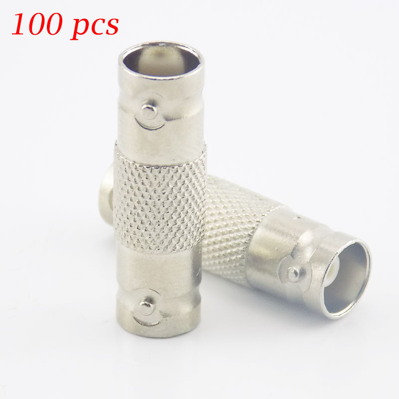 Gakaki 100 X Cctv Accessories BNC Female Connector To BNC Female Coupler Adapter Connector Female Cable Adapter Camera Wholesale