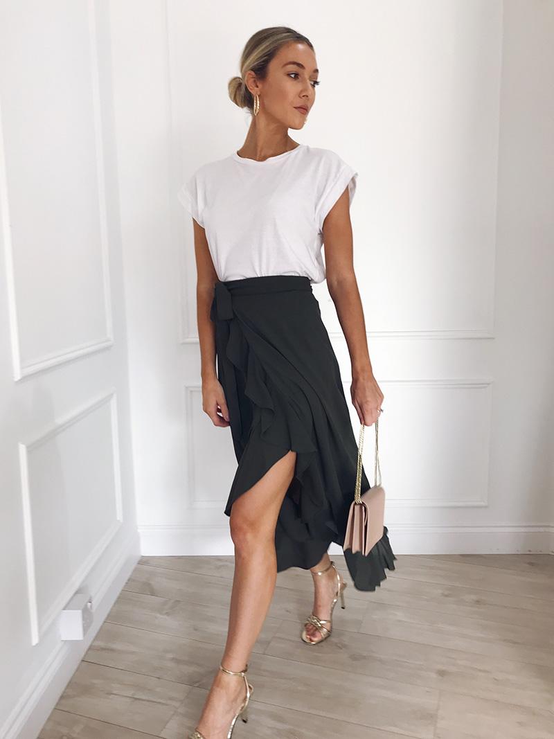 Hot Sale 19 New Slim Fashion Casual Women Leopard Print Boho Wrap Over Aysmmetric Loose Skirt Summer High Waist Midi Skirts 18