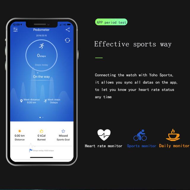 Fentorn Smart Watch Men Women Waterproof Heart Rate Monitor Blood Pressure Fitness Bracelet Smartwatch For Apple Android Phone