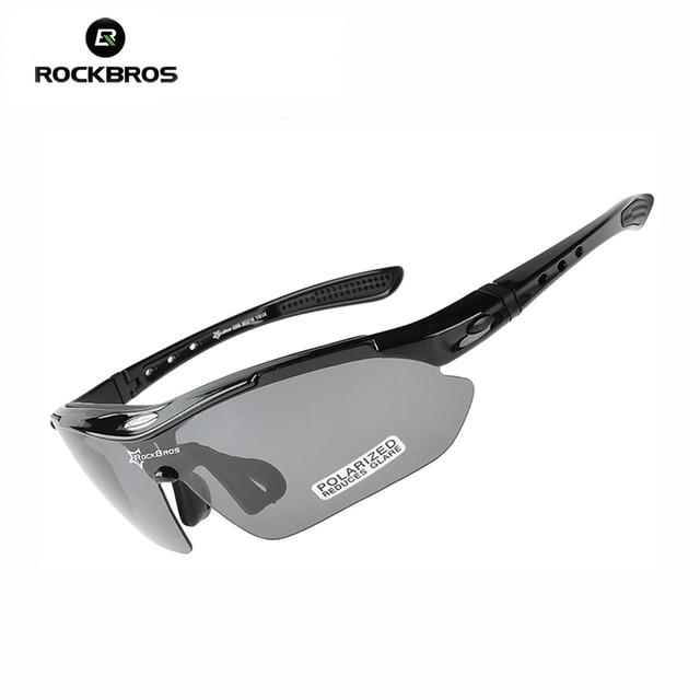 5e33cfb81ffcd RockBros Polarized óculos de Sol Ciclismo Óculos Óculos de Bicicleta  Esportes Óculos Óculos de Proteção UV