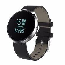 Alfartec V06 смарт-браслет монитор сердечного ритма Bluetooth Давление сна фитнес-трекер Водонепроницаемый для IOS Android