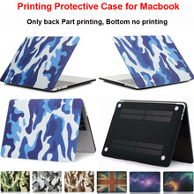 "Kamuflase Printing Pelindung Case untuk MacBook Air 11 Inch Lengan Shell Pro 13 ""Touch Bar 15 Retina 12 13.3 15.4 Cover Guard(China)"