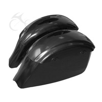 Unpainted Black Saddlebag For Indian Chieftain 14 18 Roadmaster 15 18 Motorcycle