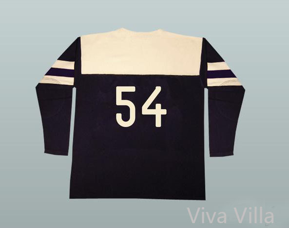 54 CCCP Russian Hockey Jersey 1954 Replica Stitched Embroidered Logo Black Movie Hoceky Jerseys Free Shipping Viva Villa 20pcs lot 2sk3377 k3377