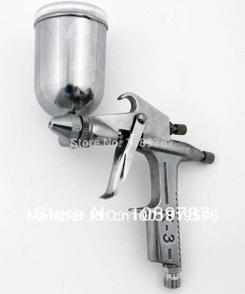 0.5mm Nozzle PRO GRAVITY FEED Mini Air PAINT Spray Gun Compressor Tools AB-K3 mini compresor de pintura