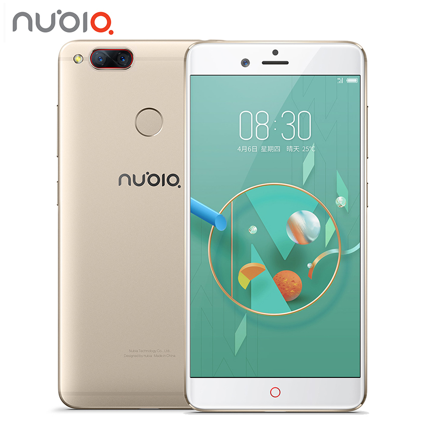 New Nubia Z17 Mini Deux Retour Caméra Smartphone 6 GB RAM 64 GB ROM 5.2 Pouce Snapdragon 652 MSM8976 Double SIM Cartes Ultra Mince