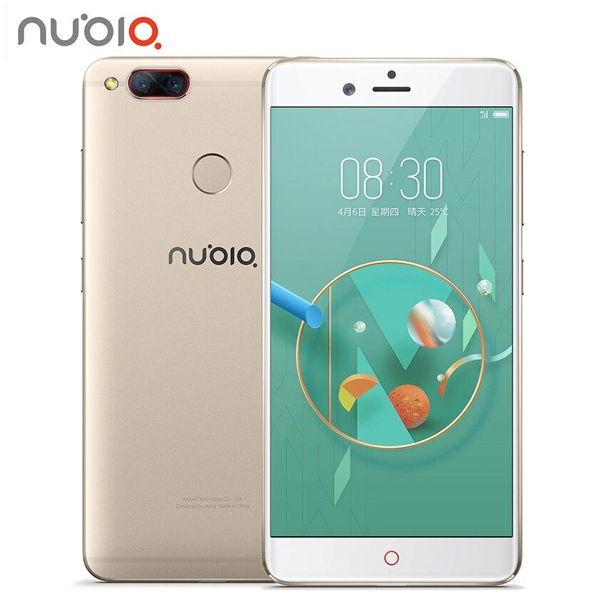 New Nubia Z17 Mini Zwei Zurück Kamera Smartphone 6 GB RAM 64 GB ROM 5,2 Zoll Snapdragon 652 MSM8976 Dual SIM Karten Ultra Slim