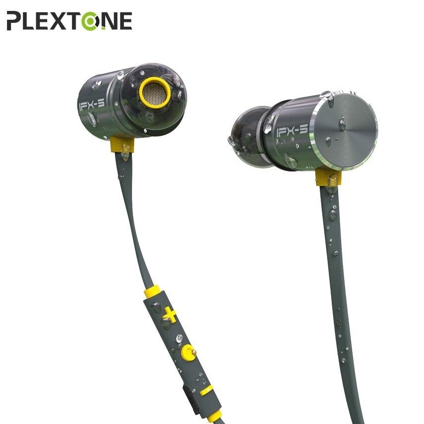 PLEXTONE Écouteurs Magnétiques Bluetooth IPX5 Étanche Sans Fil Casque Écouteurs Stéréo Casque Bluetooth 4.1 Sport Écouteurs