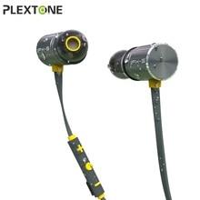 PLEXTONE Magnetic Bluetooth Fone de Ouvido À Prova D' Água IPX5 Sem Fio Fone De Ouvido Estéreo Fones de Ouvido Fone De Ouvido Bluetooth 4.1 Fones de Ouvido Desportivos